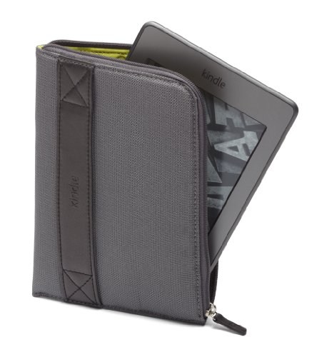 Amazon Kindle Zip Sleeve Graphite Fits Kindle Paperwhite Kindle and Kindle Touch On Sale