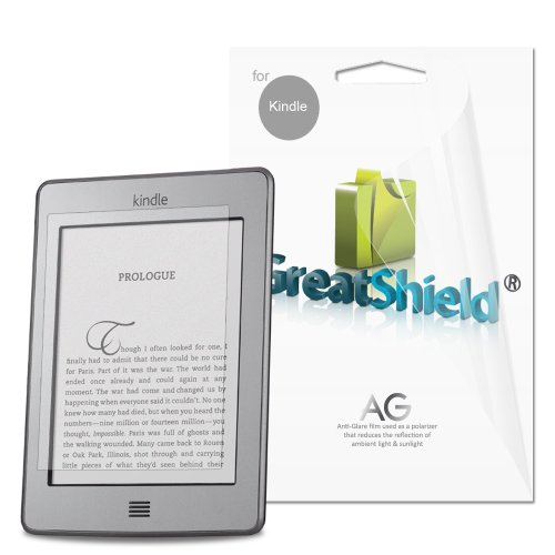 Great Shield Ultra Anti-Glare Screen Protector Film for Kindle
