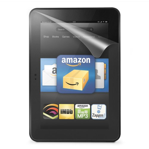 Marware 3-Pack Ultra-Clear Screen Protector for Kindle Fire HD 8.9